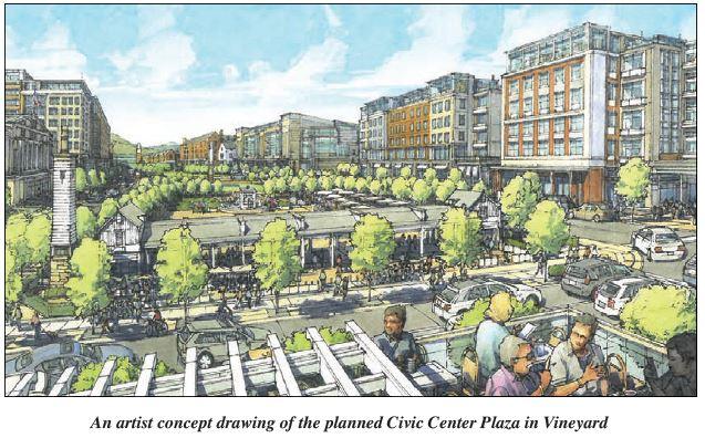 civic center vineyard