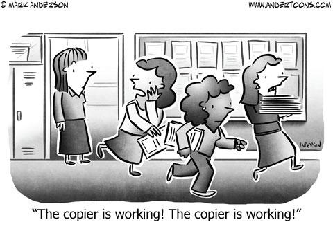 editorial cartoon copier