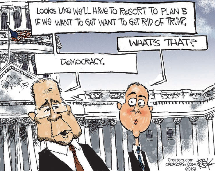 cartoon democracy