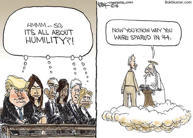 cartoon humility