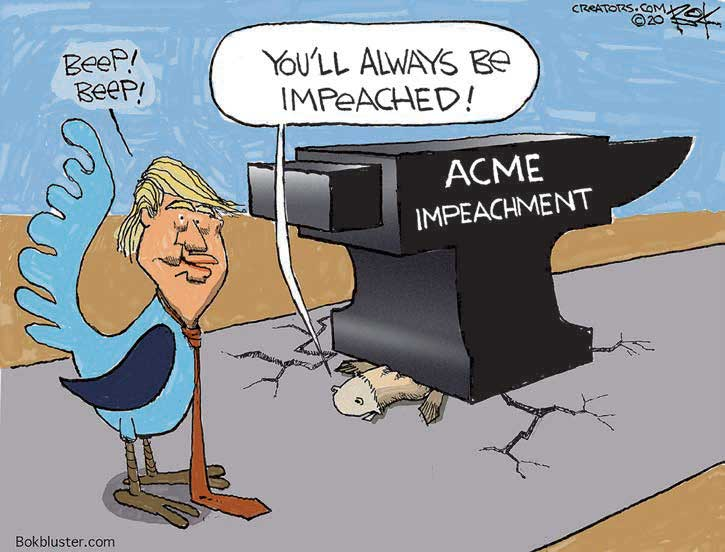 cartoon impeached