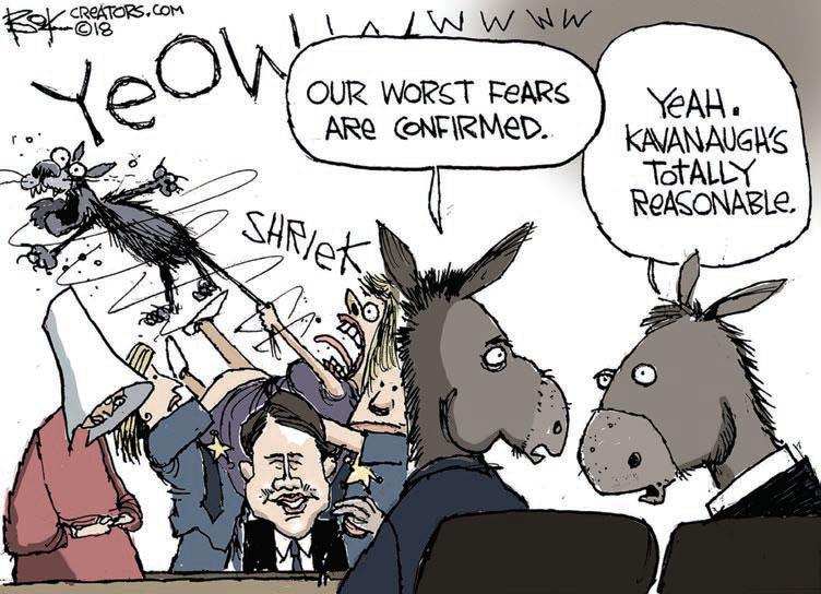 cartoon kavanaugh