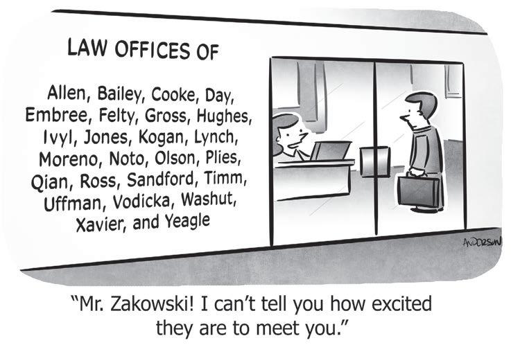 cartoon law office