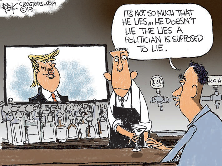 cartoon lie the lies