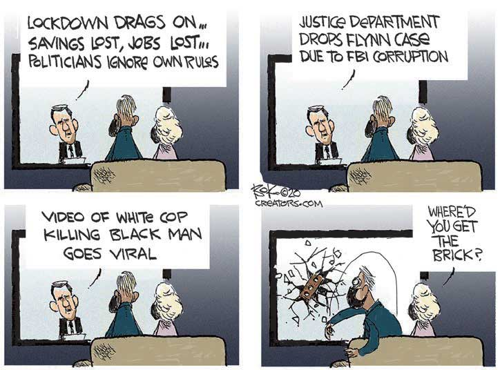 cartoon lockdown