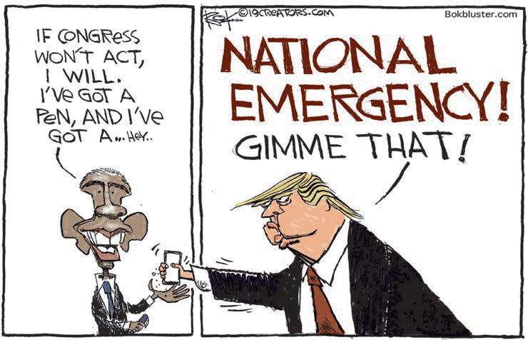 cartoon national emergency